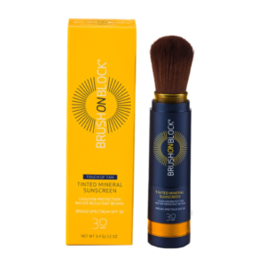 BRUSH ON BLOCK® Touch of Tan Mineral Powder Sunscreen SPF 30