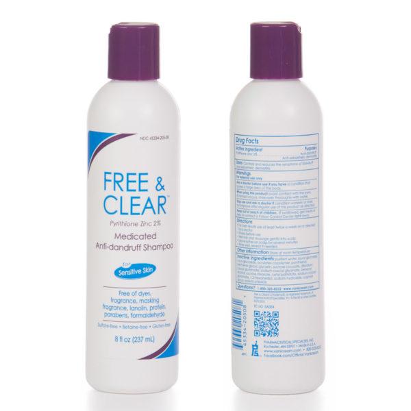 Free & Clear Medicated Anti-dandruff Shampoo