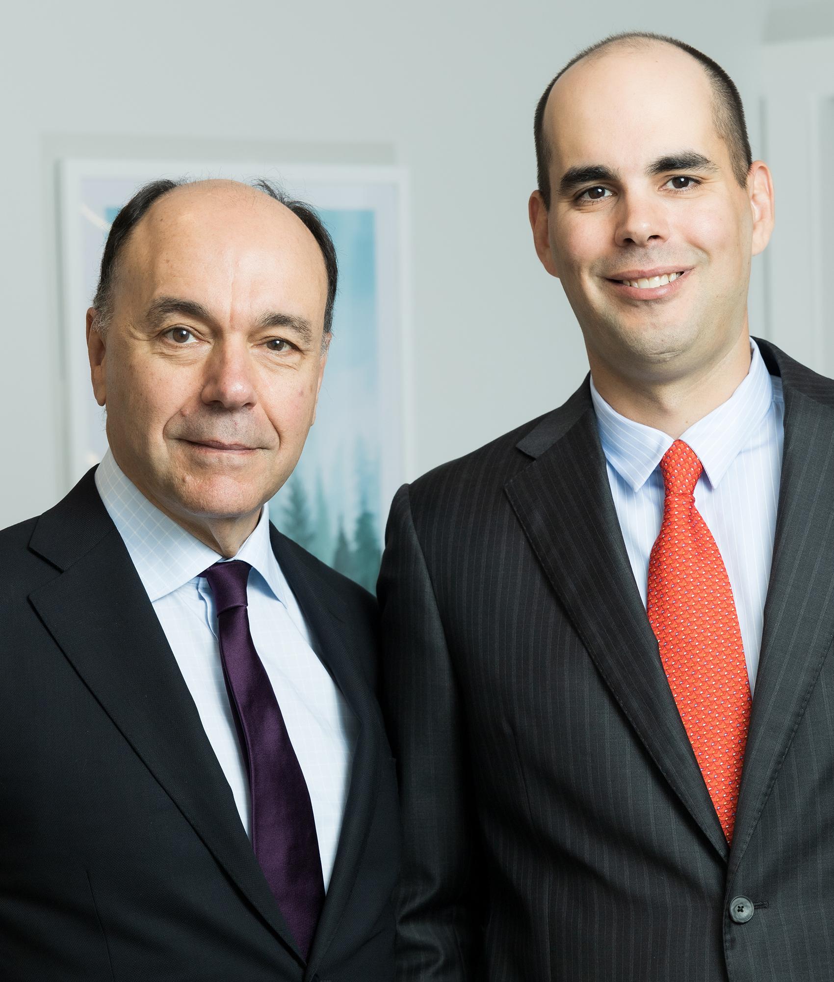 Drs. Jose and Dan Peraza